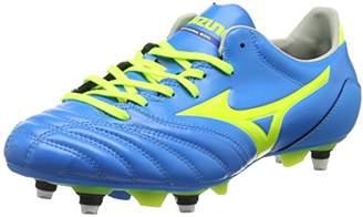 Mizuno Men's Morelia Neo Kl Mix Football Boots, Blue (Diva Blue/Safety Yellow), 42 EU