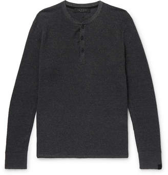 Rag & Bone Knitted Henley T-Shirt