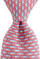 Vineyard Vines Blue Fish Tie
