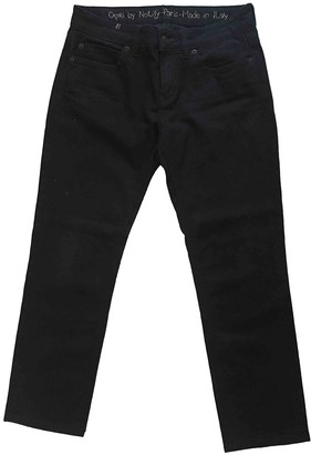 Notify Jeans Black Cotton - elasthane Jeans for Women