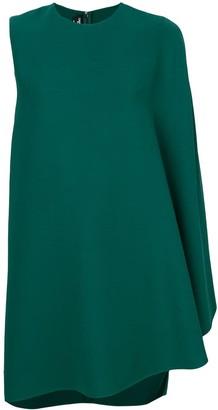 Calvin Klein draped sleeve shift dress