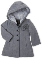 Jessica Simpson Toddler Girls) Faux Fur-Lined Hooded Jacket