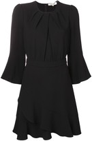 Diane von Furstenberg flared cuff dress