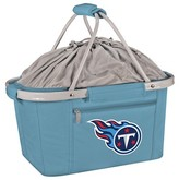 NFL Picnic Time NFL Tennessee Titans Metro Basket Collapsible Tote - Sky Blue