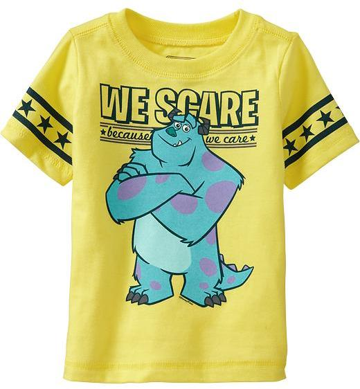Old Navy Pop-Culture Graphic Tees for Baby