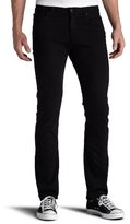 7 For All Mankind Men's Slimmy Slim Straight-Leg Jean in Black Out