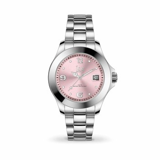 Ice Watch Ice-Watch - ICE steel Light pink - Women's wristwatch with metal strap - 017320 (Small)