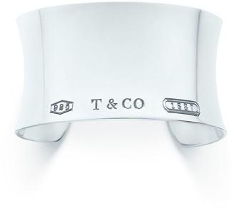 Tiffany & Co. 1837TM wide cuff in sterling silver, medium