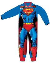 Superman Boys Licensed Micro Fleece Onesies Age 2 to 6 Years