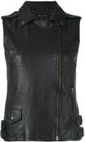 Muu Baa Muubaa - biker gilet - women - Leather - 10