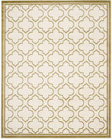Safavieh Amherst Indoor/Outdoor AMT412A Ivory/Light Green 6' x 9' Area Rug