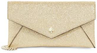 Kate Spade Burgess Court Glitter Leather Chain Wallet