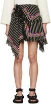 Isabel Marant Black Raffi Wrap Skirt