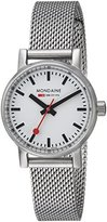 Mondaine Women's 'SBB' Swiss Quartz Stainless Steel Casual Watch, Color:Silver-Toned (Model: MSE.26110.SM)