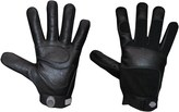 Dickies Tough Task Gloves - Black Goatskin Leather Palm (For Men and Women)