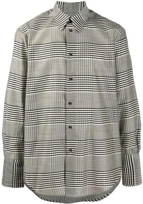Christian Wijnants Plaid Wool Twill Shirt
