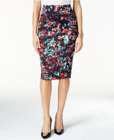 Thalia Sodi Floral-Print Pencil Skirt, Only at Macy's