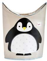 3 Sprouts Penguin Canvas Laundry Hamper