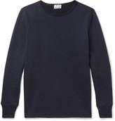 Acne Studios - Finish Slim-fit Fleece-back Cotton-jersey T-shirt