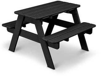 One Kings Lane Kids' Picnic Table - Black