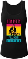 TEWDDCJ Tom Petty Full Moon Fever women's Fitted Tank Tops Crew Neck Tee shirt
