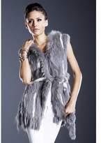 DOLCE CABO Natural Fur Vest.