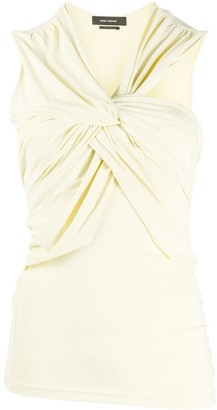 Isabel Marant Sleeveless Twist Blouse