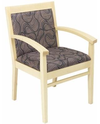 Florida Seating Fabric Tea Guest Chair Florida Seating
