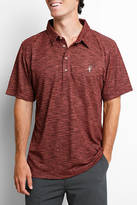 Toes on the Nose Vanguard Burgundy Performance Polo Shirt