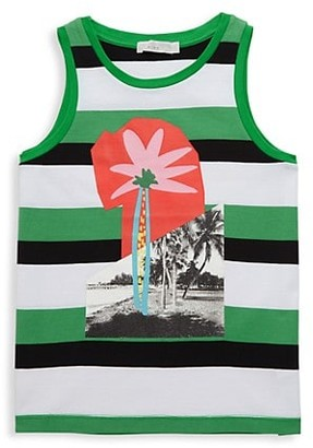 Stella McCartney Little Boy's Boy's Striped Cotton Tank Top