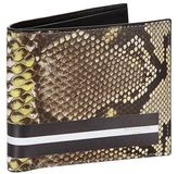 Givenchy Python Printed Leather Wallet