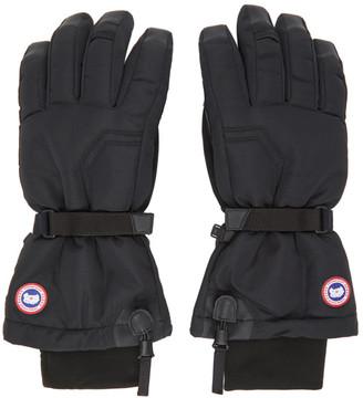 Canada Goose Black Down Arctic Gloves