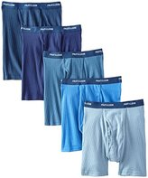 Fruit of the Loom Men's 5-Pack No Ride Up Boxer Brief
