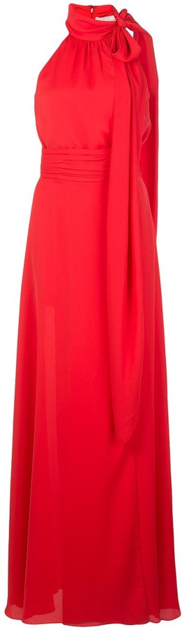 Sachin + Babi Morgan halter neck gown