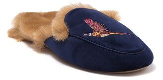 Joules Ferndale Premium Loafer Faux Fur Slipper