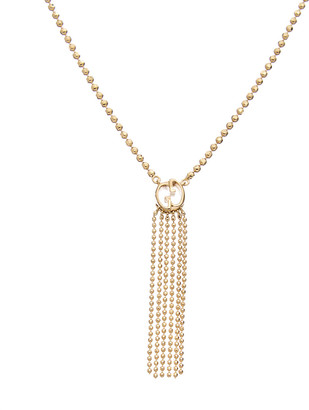 Gucci 18K Tassel Necklace