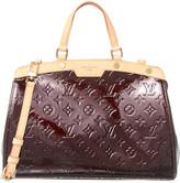 Louis Vuitton Purple Monogram Vernis Leather Brea Mm