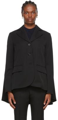 Lanvin Black Wool Classic Blazer
