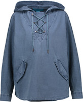 MiH Jeans Denim hooded top