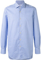 Kiton check shirt - men - Cotton - 38