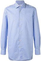 Kiton check shirt