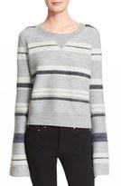 Derek Lam 10 Crosby Women's Stripe Wool Sweater