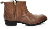 Golden Goose Deluxe Brand Zanja double-zip leather ankle boots