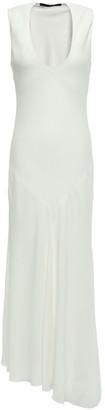Haider Ackermann Asymmetric Stretch-crepe Midi Dress