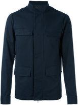 Emporio Armani button up jacket - men - Cotton/Polyester/Spandex/Elastane - XL