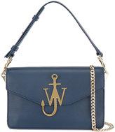 J.W.Anderson Blue logo shoulder bag
