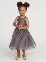 Old Navy High-Neck Tulle Dress for Toddler Girls