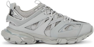 Balenciaga Track Grey Panelled Mesh Sneakers