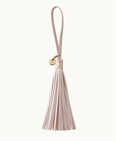 GiGi New York Leather Bag Tassel Pearl