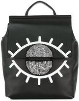 KENDALL + KYLIE Kendall+Kylie sequinned eye backpack